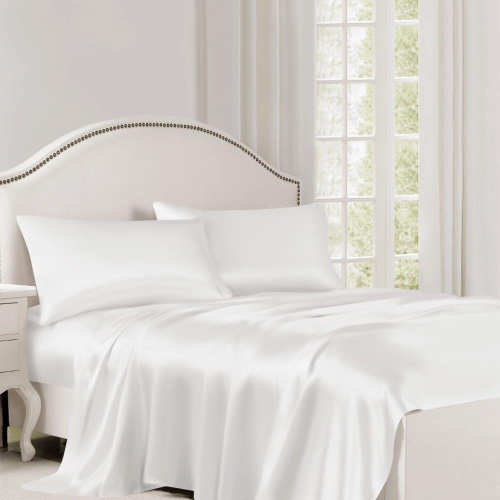 buy silk bedding