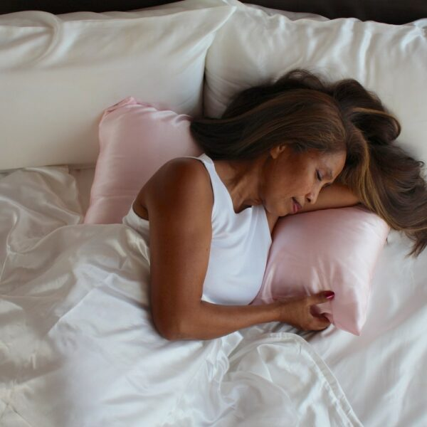 pink mulberry silk pillowcases